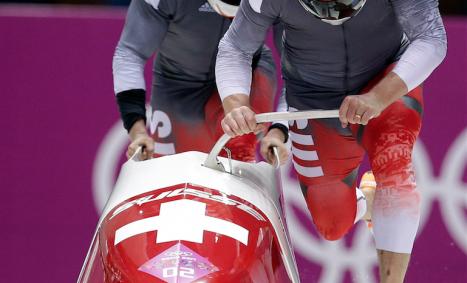 Waterjet beim Olympiastart: der Starbügel wurde von Waterejt in Arwangen mit Wasserstrahl geschnitten.
